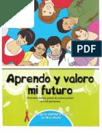Aprendo y Valoro Mi Futuro Módulo Alumnos