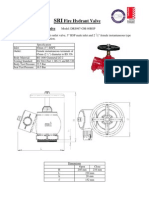 SRI Fire Hydrant Valve