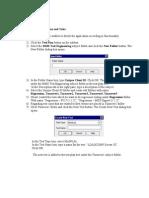 Creating Test Plan