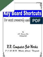 Ramana Keyboard Shortcuts