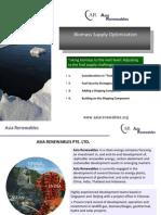 Biomass Supply Optimization