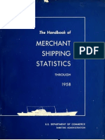 The Handbook of Merchant Shipping Statistics Through 1958 - U.S. Maritime Administration (1958)