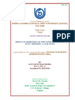 Cover Page IGNOU PROJECT