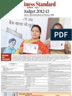 Business Standard - Explanatory Memorandum Budget 2012