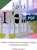 Plaquette L'Odéon