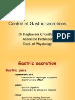 Control of Gastric Secretions