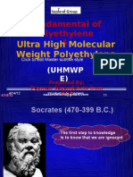 Fundamental of Polyethylene and Ultra High Molecular Weight Polyethylene by Peyman Sazandehchi