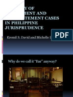 A Survey of Disbarment and Reinstatement Cases (2)