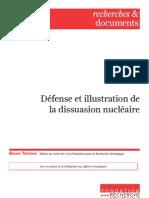Défense et illustration de la dissuasion nucléaire
