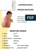 Frozen Shoulder Syndrome