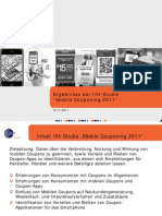 Mobile Couponing 2011 (IfH Studie, GS1 Germany)