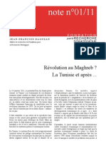 Révolution au Maghreb ? La Tunisie et après ...
