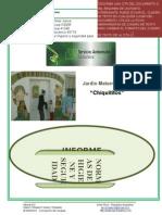 INFORME JARDÍN CHIQUITITOS CLUB ITAPÉ