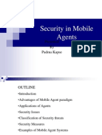 Security in Mobile Agents