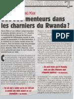800 000 Menteurs Dans Les Charniers Du Rwanda - Charlie Hebdo