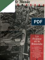 La France Et Le Rwanda - Dossier Spécial Mission d'Informat