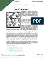» Arendt, Hannah » Print [Internet Encyclopedia of Philosophy]