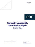 Generative Assembly Structural Analysis