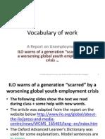 Vocabulary of Work 3