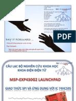MSP430 - SPI_74HC595