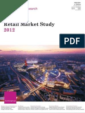 e81169a4442db Retail Marketstudy 2012 - Location Group | Shopping Mall | Retail