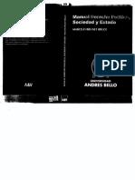Brunet Bruce, Marcelo - Manual de derecho político Sociedad y Estado