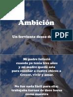 ambicion