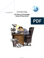 E-BOOK IB Theory of Knowledge Essay Writing Guide