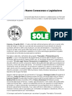 Università Studi Catania Parmalat Latte Sole