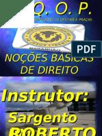 01 - NOÇÕES BÁSICAS DE DIREITO - 17-07-2011