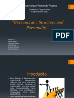 Bureaucratic Structure and Personality
