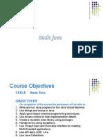 Java Basics by Kamalakar Dandu