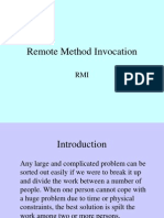 Remote Method Invocation by Kamalakar Dandu
