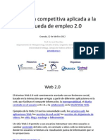 Inteligencia competitiva aplicada a la búsqueda de empleo