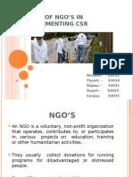NGO and CSR