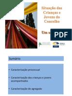Situação das Crianças e Jovens do Concelho - Um olhar das CPCJ... (2010)