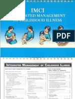 (IMCI) Integrated Management of Childhood Illness