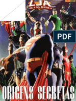 Liga da justiça - Origens secretas