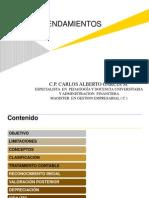 NIC 17 ARRENDAMIENTOS CARLOS ALBERTO GARCIA MONTAÑO