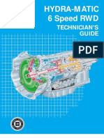 6 Speed RWD Technician's Guide