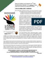 Comunicado MODEP Cumbre de los Pueblos