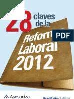 28 Claves Reforma Laboral 2012