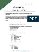 Manual de Usuario Dentaclinic 2009 PRO