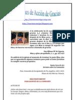 ORACIONES DE ACCIÓN DE GRACIAS   ALIANZA DE AMOR