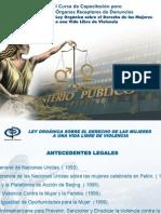 Venezuela - Curso de Capacitacion Para Organos Receptores de Denuncias Ley Sobre Violencia Contra Las Mujeres (Esp)