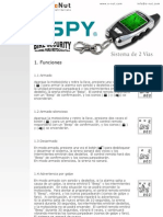 Manual Usuario SPY LM209 On