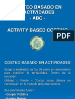 Introduccion Al Sistema de Costos ABC