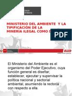 Ministerio del Ambiente y Minería Ilegal
