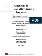 Investment in BD