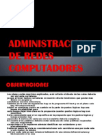 Administracion de Redes Propuesta
